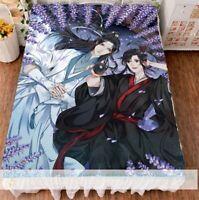 59/'/'X79/'/' Grandmaster of Demonic Cultivation Flano Blanket+2pcs Pillowcase#E560