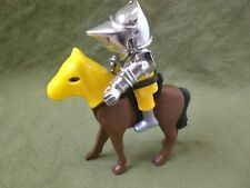 Playmobil Yellow Silver Knight and Horse
