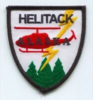Alaska Helitack Forest Fire Wildfire Wildland Patch Alaska AK Helicopter 3.00 In