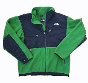 The North Face Denali Fleece Jacket Green - Men's Small