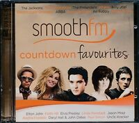 Smooth FM Countdown Favourites CD 2-disc NEW Elvis Presley Wham Air Supply Mraz