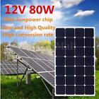 80W 12V Elfeland Mono Semi Flexible Solar Panel Battery Charger For Home RV Boat