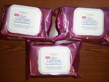 3 Packs Of 25ct L'Oreal Skin Genesis Micro-Smoothing Wet Cleansing Towelette