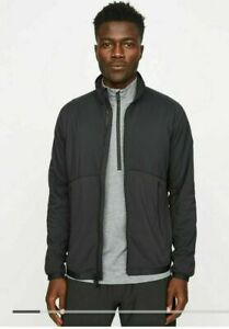 HILL CITY Insulated Run Jacket NWT - XL Black #396415