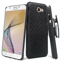 Samsung Galaxy J7 Prime, SM-J727T, Slim Rugged Holster Shell Clip Case Cover