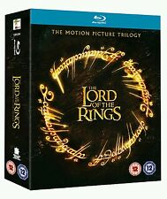 The Lord Of The Rings Trilogy Box Set Blu-Ray - New but opened