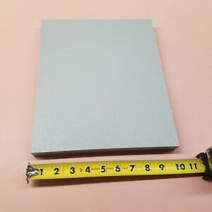 """HDPE MACHINABLE PLASTIC SHEET 1"""" X 10"""" X 12"""" GRAY, TEXTURED BOTH SIDES"""