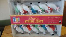 llama String Lights - Camper - Patio - Novelty Party Lights