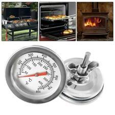 1x temperatura de termómetro parrilla barbacoa Fumador calibre 50-500 ° C Acero F8R0