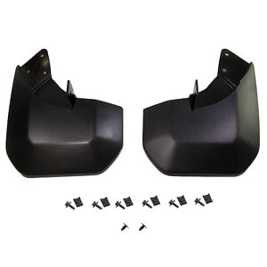 OEM NEW 2015-2020 Ford Transit Rear Molded Splash Guards Mud Flap Kit SRW