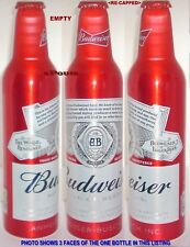 2016 WORLD RENOWNED BUDWEISER ALUMINUM BOTTLE BEER CAN USA KING BUD A-B AMERICA