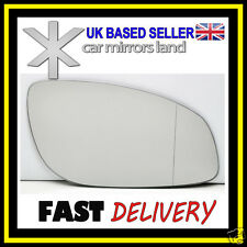 Right Driver Side Wing Mirror Glass Wide Angle VAUXHALL VECTRA C MK3 2002-2008