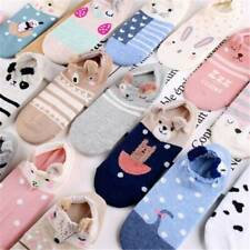 New 3D Cartoon Lovely Cute Animal Women Girls Warm Invisible Ankle Low Cut Socks
