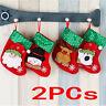 Christmas Santa Socks Cute Ornaments Festival Party Xmas Tree Hanging Decor