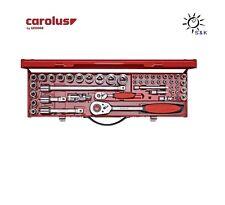 """CAROLUS 49 tlg. Steckschlüsselsatz 5800.00 1/4"""" und 1/2"""" # 1516906 by GEDORE"""