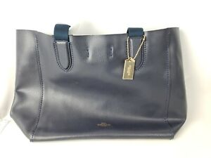 Coach DRBY Tote Handbag - (F58660) - Midnight Lapis