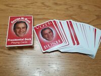 George W Bush Presidential Playing Cards (2004) Full Deck with Cabinet Members
