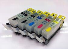 Refillable INK CARTRIDGE PGI-525 CLI-526 Canon print MG5250 MG5350 IP4850 IP4950
