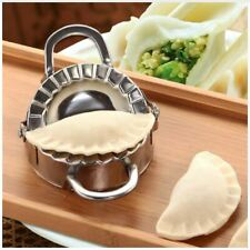 Stainless Steel Manual Dumpling Maker Wrapper Cutter Pie Ravioli Dumpling Mould
