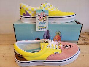 Vans X Sponge Bob Era Sponge Bob Best Friends Limited Edition Sneakers for Women