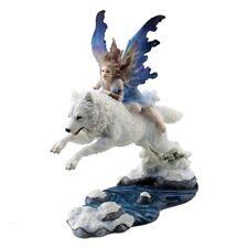 Free Spirit - Fairy & Wolf - Figurine / Nemesis Now