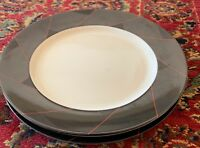 "Mikasa ESCORT 10 7/8"" Dinner Plates Set of 3"