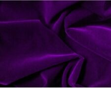 """Purple Velvet Fabruc 45"""" Width Sold By The Yard"""