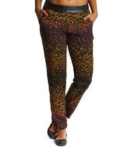 3397e84be3 NWT: Jessica Simpson Achilles Print Pants in Jet Black Autumn Floral Sz: M