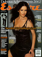 Esquire 2/03,Catherine Zeta-Jones,February 2003,NEW