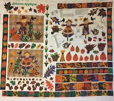 New Autumn Scarecrow Pillow Shirt Applique Fabric Material Panel Dreamspinners
