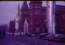 vintage 35mm slides Polaris missile outside Smithsonian Institute Washington DC