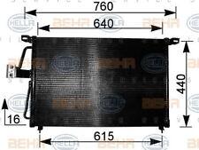 8FC 351 037-611 HELLA Kondensator Klimaanlage