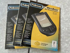 (3) Fellowes WriteRight Micro-Thin Screen Protectors for Palm M100, M105 (98049)