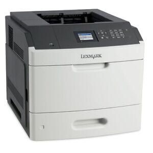 Lexmark MS810n Monochrome Laser Printer / Warranty !