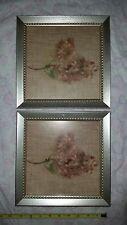 Cheri Blum  Pair Of Lilac/Botanical/Flower Art/Framed/Print/Picture/Painting