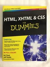 HTML, XHTML and CSS For Dummies by Noble, Jeff, Tittel, Ed,