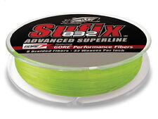 SUFIX 832 Advanced Superline Braid Fishing 30LB 150Yds - Neon Lime 660-030L