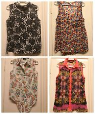 George Select New Look Miss Selfridge Women's floral smart shirts tops size 10