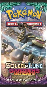 NEUF - FR - BOOSTER POKEMON SOLEIL ET LUNE GARDIENS ASCENDANTS SCELLE - DISPLAY