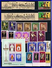GUYANA = x9 mnh SETS + S/s - CHRISTMAS, EASTER, RELIGION, BIRDS