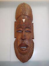 Afrikanische Maske  Holzmaske African Mask Wood Holz Wandmaske