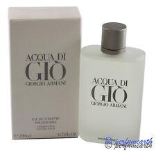 GIO BY GIORGIO ARMANI 6.7/6.8 OZ EDT SPRAY FOR MEN NEW IN BOX