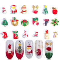 Nail Tips Snowflake Jewelry Nail Art Rhinestone Nail Sticker Christmas Series