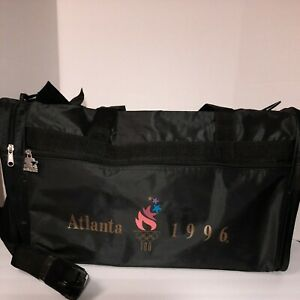 Vintage Never Used Starter 1996 Atlanta Olympics Gym Duffle Black Bag