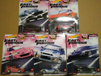 Hot Wheels Fast & Furious Quick Shifters Corvette Honda Nissan  lot de 5 (NG152)