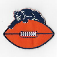 Chicago Bears (c) Iron on Patch Embroidered Football Patches