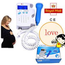 Fetal Heart detector Baby Fetal Doppler Sound Heart Monitor heartbeat LCD Screen