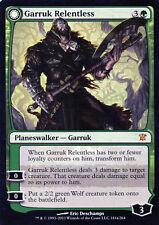 Garruk Relentless / Garruk der Unbarmherzige - Innistrad - Magic - EX - ENG