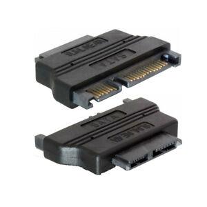 D32 Kabel Adapter SATA 22 Pin > Slim SATA 13 Pin DVD / CD Laufwerk Anschluss 5V
