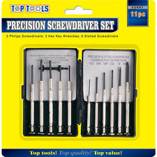 11 x Assorted Mini Precision Screw Driver Set for Watch Jewelry